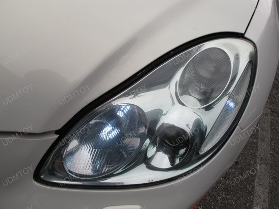 Lexus - SC - 430 - LED - daytime - running - lights - 2